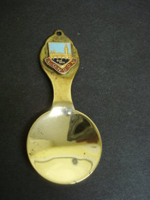 Lovely Tea Caddy Spoon Big Ben London