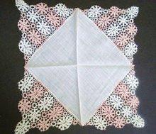 Lace Wedding Handkerchief Hanky