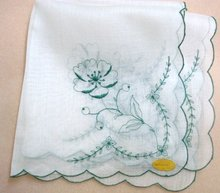 Fascinating  Embroidered Handkerchief Hanky