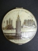 Ladies Powder Compact - 1933/34 World's Fair Chicago