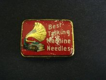 Gramophone Phonograph Needle Tin Box