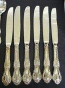 Silver Flatware Service Set 30 Pieces