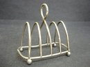 Sterling Crumpet Toast Rack - Stand
