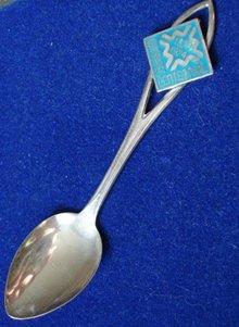 Sterling Souvenir Spoon Winnipeg Centennial
