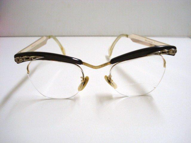 Gold Filled Eyeglass Frames : Eyeglasses Gold Filled - Stone Studded