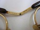 Eyeglasses Gold Filled - Stone Studded