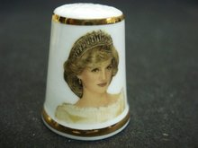 Thimble Princess Diana 25th Birthday