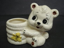 Cute Honey Pot or Toothpick Holder