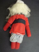 Antique Cloth Doll Young Santa