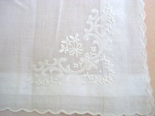 Exquisite Wedding Handkerchief