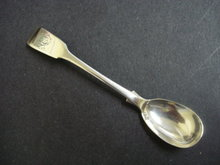 Antique Sterling Spoon Mono A E B