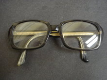 Elegant Vintage Dark Rimmed Eyeglasses