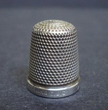 Great Sterling Silver Thimble