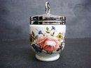 Fantastic Royal Worcester Egg Coddler PINK ROSE