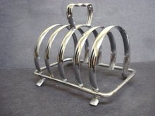 Vintage Toast Rack Art Deco style