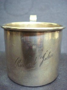 Sterling Baby Cup - Richard John