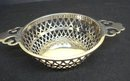 Ornate Sterling Dish - Open work