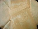Irish Linen Napkinds Double Damask