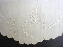 Embroidered Madeira Doily