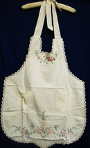 Embroidered Ladies Apron
