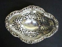 Sterling Pierced Dish - Precious