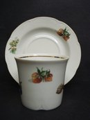 MarvelousCup and Saucer Fine East German Porcelain