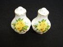 Salt and Pepper Shakers by Royal Albert