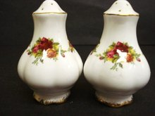 Salt and Pepper  by Royal Albert Old Country Roses