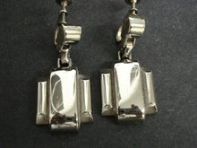 Deco Style Earrings - Screw-back Style