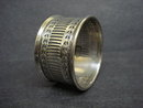 Silver Napkin Ring Pierced