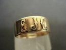 14k Gold Ring - Band Mono EJC
