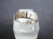Pretty Sterling Ring Belt Buckle