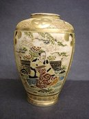 Fantastic Satsuma Vase