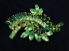 Fabulous Rhinestone Brooch Art Deco