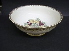 Limoges Jardiniere Bowl Hand Painted