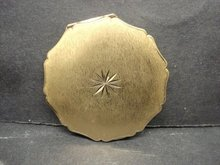 Powder Compact Gold Tone by Stratton England