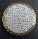 Jewelled Powder Compact Stratton England