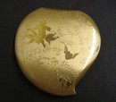 Powder Compact Heart Shape Romance