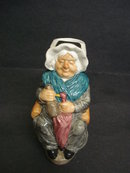 Wonderful Mrs Gamp Toby Jug by Wood & Sons