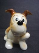 Lovely Vintage Dog Figurine Pluto Signed Occupied Japan