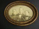Victorian Framed Photo - Family