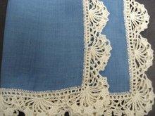 Crochet Lace Border Hankie