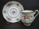 Fabulous Royal Albert Petit Point Demitasse Set
