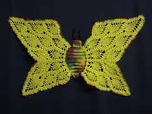 Beautiful Crochet Lace Butterfly