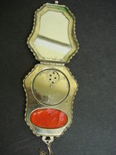 Powder and Rouge Compact Purse