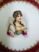 Sevres Portrait Plate Josephine
