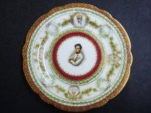 Sevres Portrait Plate Duc de Rcichstadt