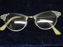 Cat Eye Eyeglasses Vintage Gold Filled