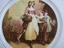 Limited Edition Plate Victorian Era Scene