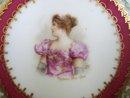 Sevres Portrait Plate Madame Sans Gene